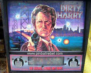 Pinball Machine Dirty Harry by Williams