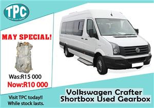 Vokswagen Crafter Shortbox Used Gearbox For Sale at TPC