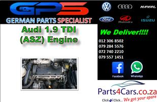 Audi 1.9 TDI (ASZ) Engine for Sale