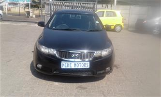 2011 Kia Cerato 1.6 EX 4 door automatic
