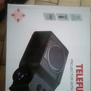 Telefunken . projector with on  board DVD player