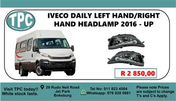 Iveco Daily Left Hand/Right Hand Headlamp 2016 - Up - For Sale at TPC