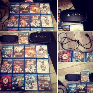PS Vita For Sale with 14 Games