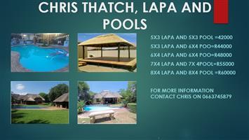 CHRIS THATCH LAPA AND POOLS