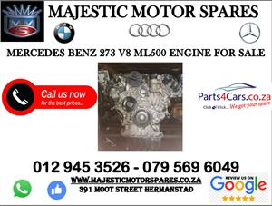 Mercedes benz second hand ML500 engine for sale