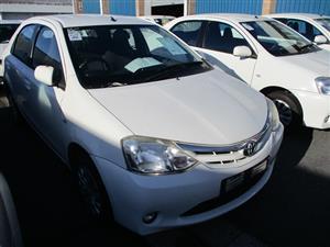 2012 Toyota Etios sedan 1.5 Xs