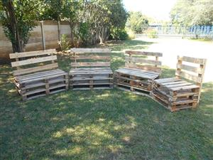 Pallet furniture-4 piece