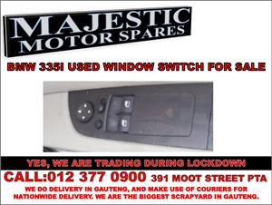 Bmw 335i used window switch for sale