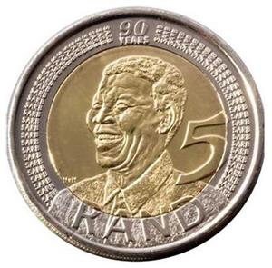 R 5 Mandela coin for sale