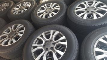 """New 18"""" Wildtrak mags and tyres"""