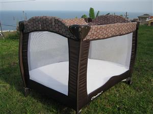 Compact, Collapsible  Baby Cot For Sale