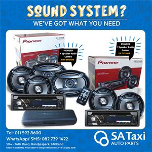 Pioneer Radio Combo Special - SA Taxi Auto Parts quality spares
