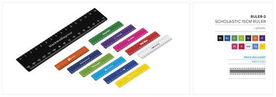 Scholastic 15cm Ruler