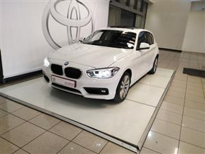2018 BMW 1 Series 120i 5 door auto
