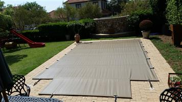 PVC SWIMMING POOL COVERS WITH POLES FOR SALE  076 93 93 786