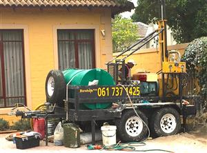 WATER BOREHOLE DRILLING RIG