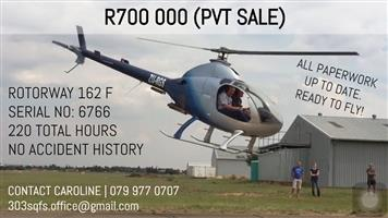 Helicopter Rotorway 162F For sale! Negotiable!!!