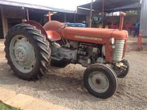 Red Massey Ferguson (MF) 65 35kW/50Hp 2x4 Pre-Owned Tractor