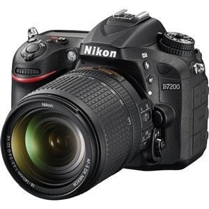 Nikon D7200 DSLR with 18-140mm VR Lens with Free Easycover.  R17,593.00