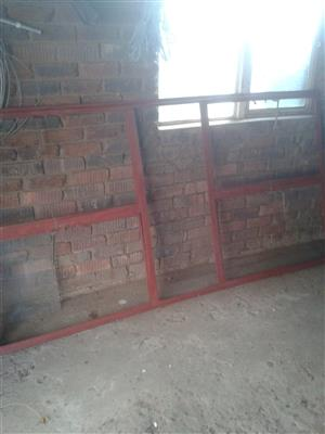 Steel window frome