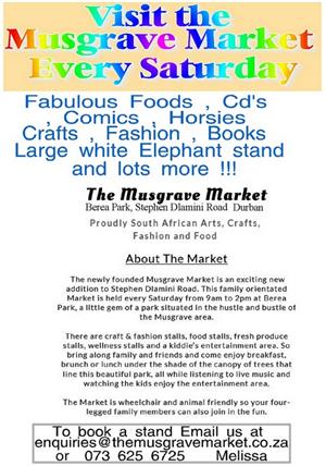 Visit the Musgrave Market Every Saturday
