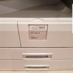 printer and scanner (MP 1600)
