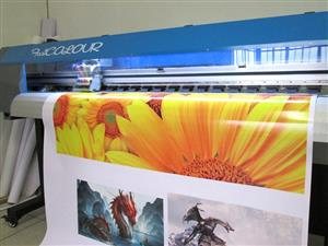 F-1860/ECO FastCOLOUR 1860mm Large-Format ECO Solvent Ink Inkjet Printer, EPSON® DX5