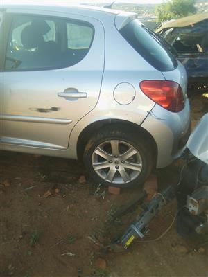 Logic Spares is stripping a petrol Peugeot 207 for spares