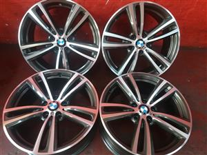 """BMW 19"""" MAG RIMS FOR SALE"""