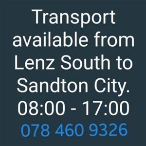 Transport to Sandton