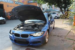 Stripping this vehicle for car parts BMW F30
