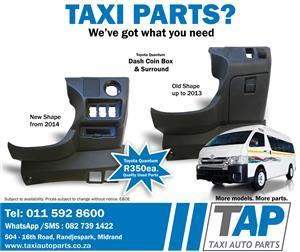 Toyota Quantum Dash Coin Box & Surround - Quality used spares - Taxi Auto Parts - TAP