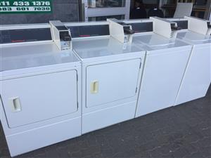 Coin Operated Speed Queen Washing Machines and Deyers