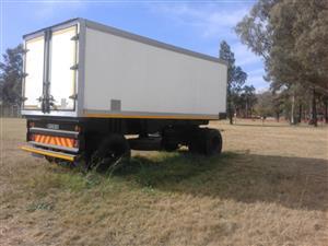 Henred Drawbar trailer