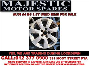 Audi A4 B8 used rims for sale