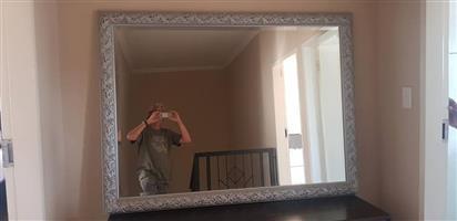 Beautiful big beveled Mirror