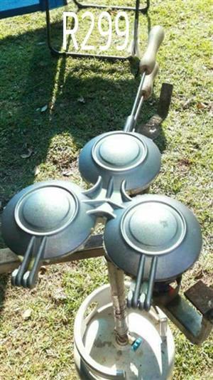 3 Side jaffle maker te koop