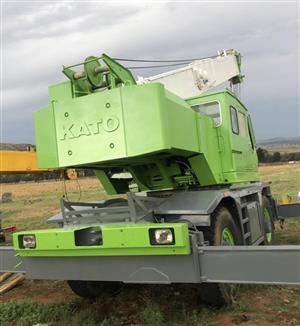 25 Ton crane - Kato KR20H-iii rough terrain