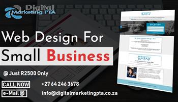 Full Packages Website Design & Development Services Pretoria