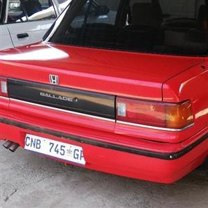 1991 Honda Ballade 1.5 Comfort