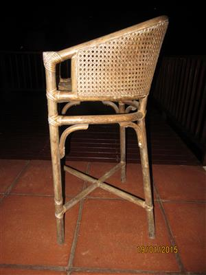 7 CANE BAR STOOL R100 EACH SEATS NEED REPLACING LOTS OF FURNITURE URGENT SALE