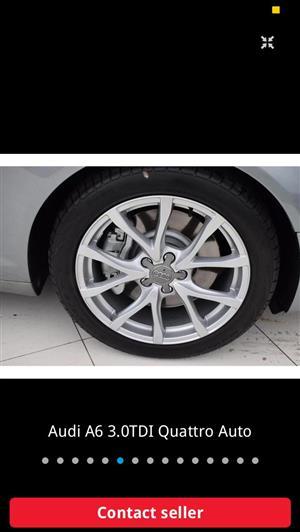 "Audi 18"" rims to swop"