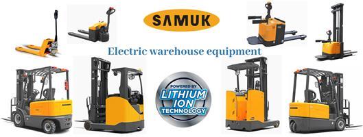 Brand New Lithium Ion SAMUK Forklift for Sale!!