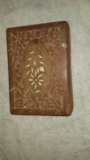 Wood Boxes x4