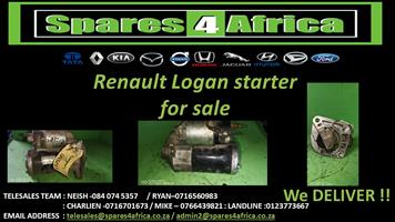 Renault Logan Starter for sale.