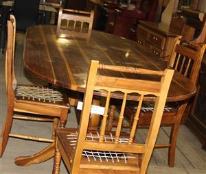 5 piece dining room suite S030765A #Rosettenvillepawnshop