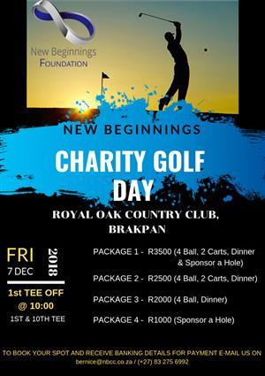 New Beginnings Charity Golf Event