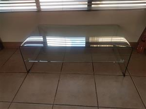 Glass/ perspex table