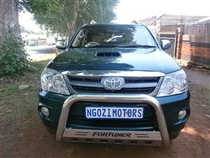 2008 Toyota Fortuner 3.0D 4D 4x4 Limited