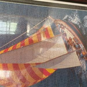 2000 piece puzzle sailing ship